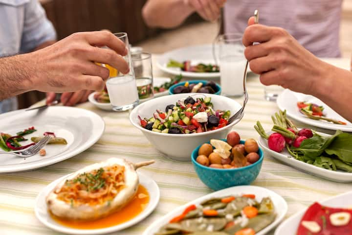 Feast on local dishes