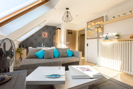 Design Apartment on Rhine bank with top connection - Bonn