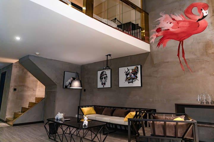 【西客站兰州中心中天健广场】轻奢loft主题公寓