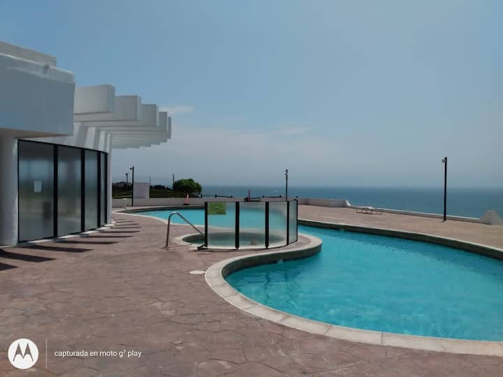 Rosarito Ocean Front High-Rise w Pool GYM SECURITY
