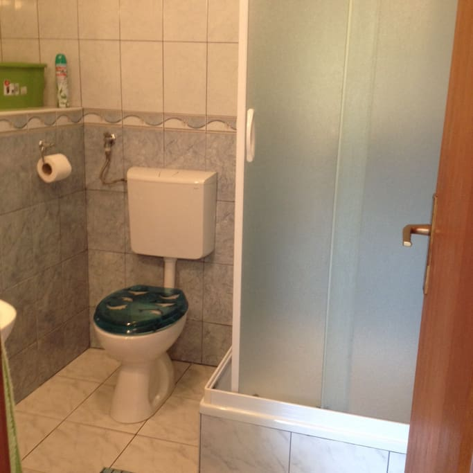 Toilet in the apartment