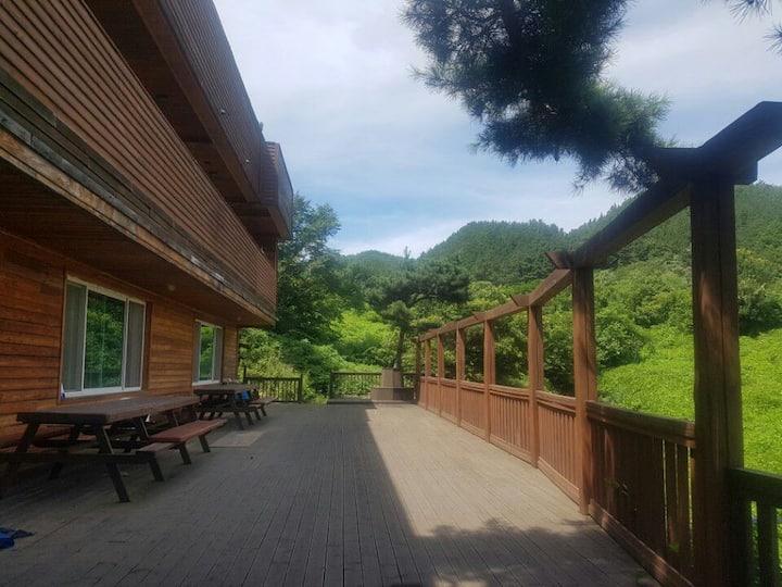 Nature house in moojoo