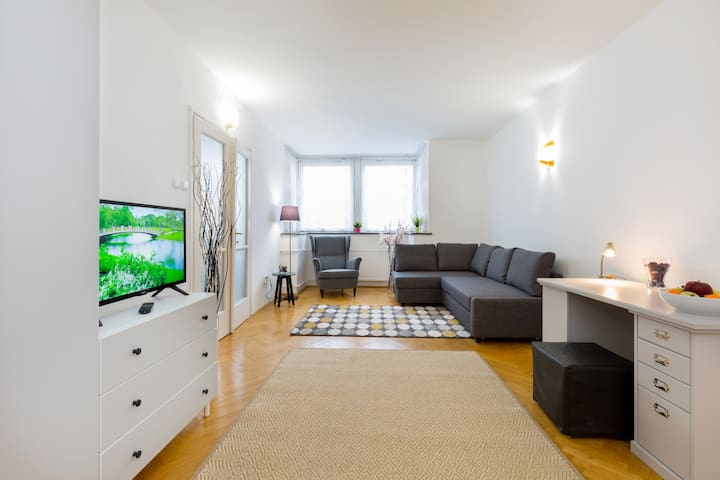 Spacious 2 bedroom inner City apartment - with A/C