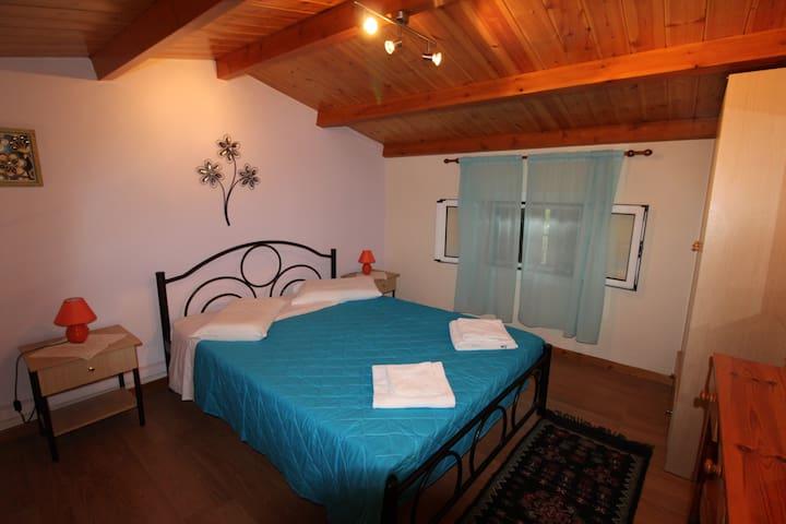 Dimitris Maisonette Acharavi Corfu Bedroom