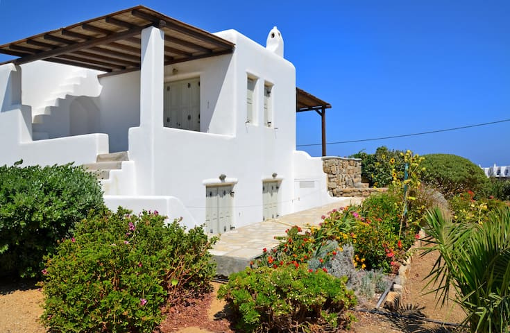 Mykonos Kalo Livadi 12 islands view - Mikonos Renting for more than 100 days (only perpetual renting) - Haus