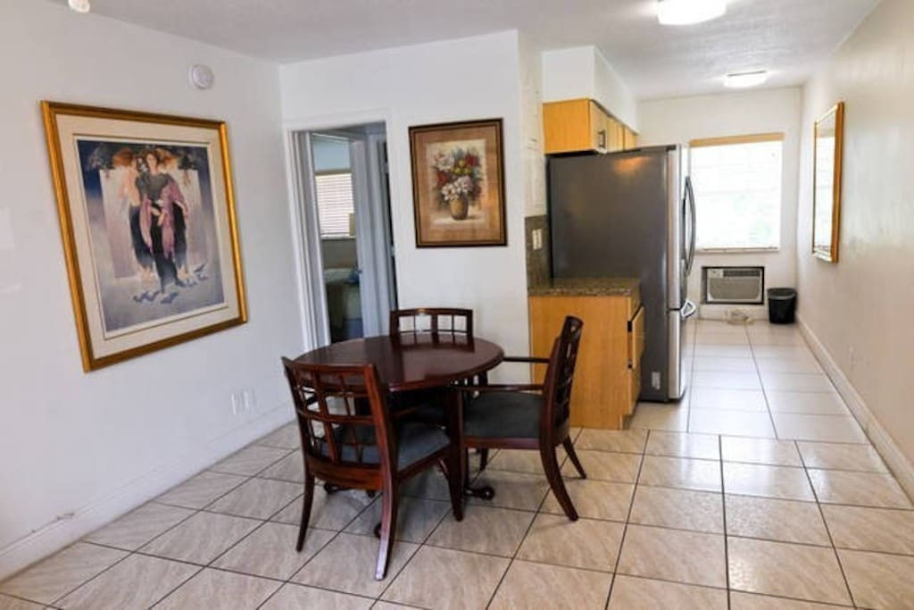 1 BEDROOM APARTMENT JUST STEPS AWAY FROM DEERFIELD BEACH