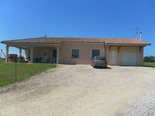 Charmante villa dans la Bresse - Servignat - Casa de campo