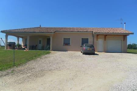 Charmante villa dans la Bresse - Servignat - Villa