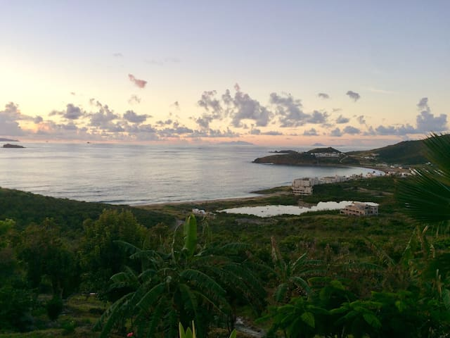 View dawn St Kitts and Nevis and St Eustatius