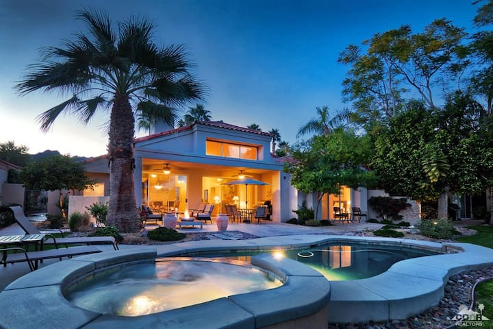 Luxury House w/ Salt Water Pool, Spa, Golf PGAWest