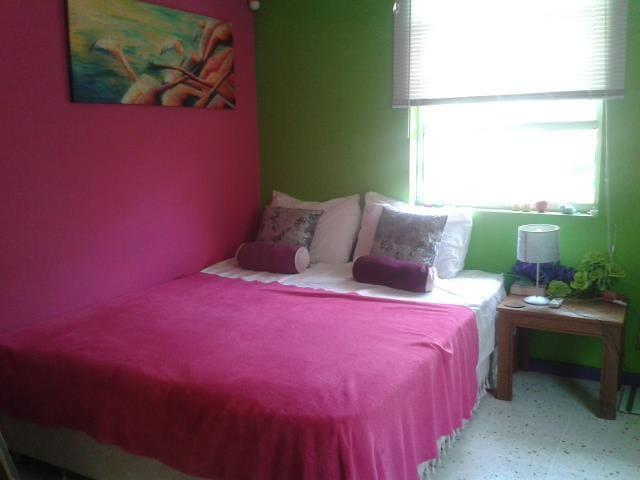 Flamingoroom Bed&Art2gether Curaçao - Sint Michiel