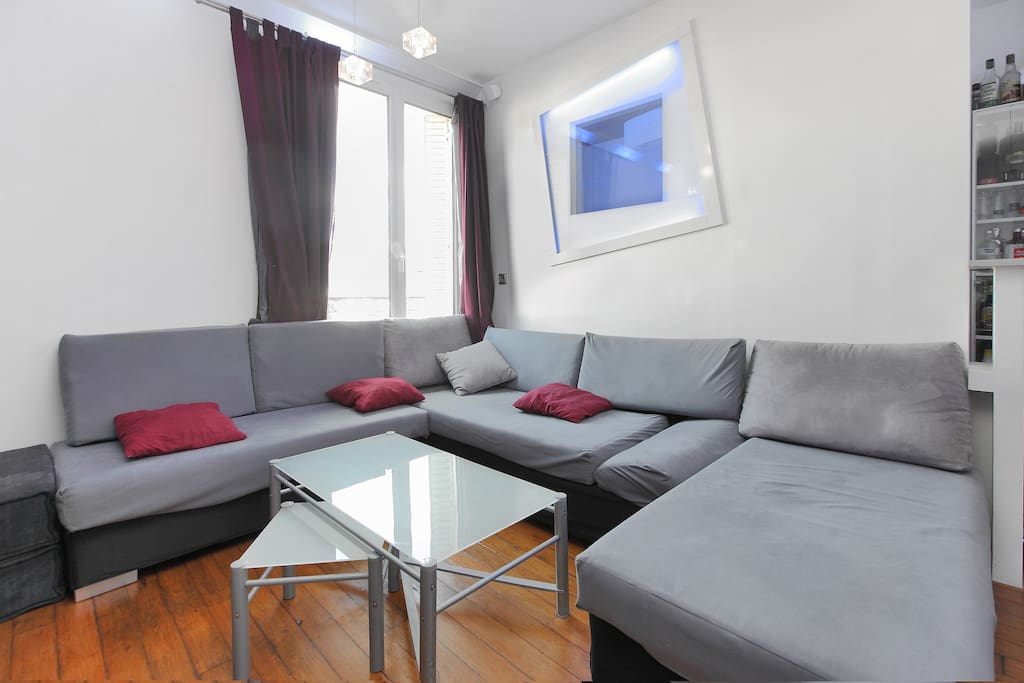 Modulable sofa