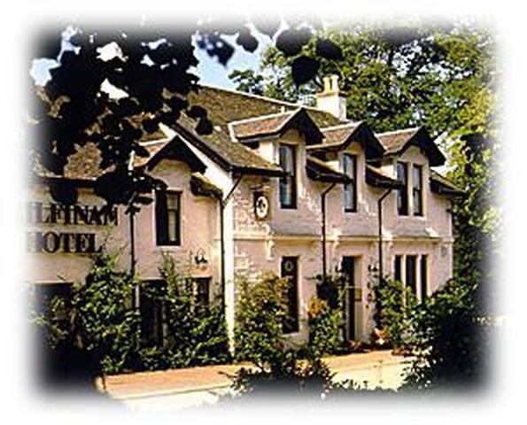 Scottish hospitality at its best - Kilfinan