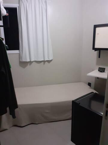 Quarto Individual em Hostel.