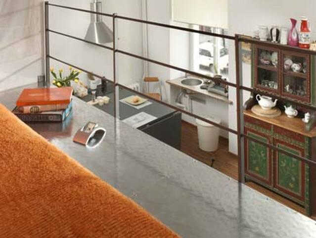 Widok z antresoli/View from the mezzanine