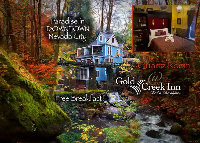 Gold Creek Inn Quartz Room - Nevada City - Bed & Breakfast