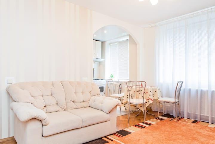 En musig 2 rum och kök lägenhet