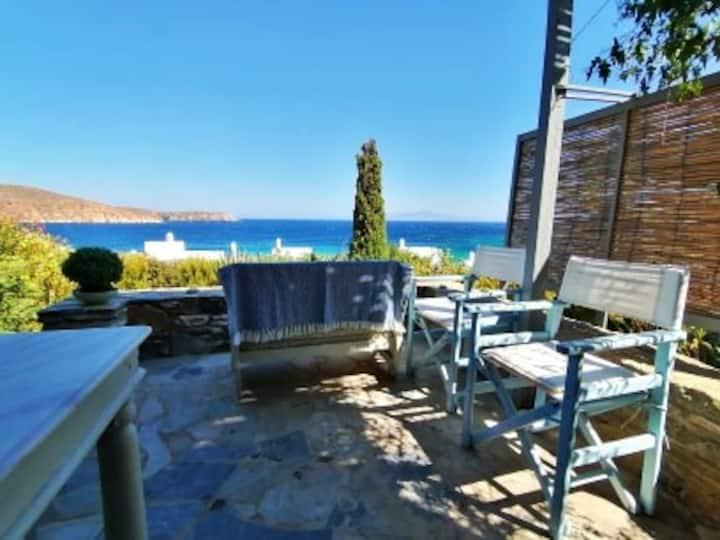 Serifos-The Great Balcony,Karavi beach , Greece.