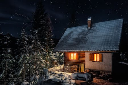 Romantic Cabin in beautiful Alps - Zgornje Jezersko - Srub