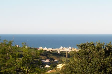 holiday house with fabulous sea views - Monteprandone - Wohnung