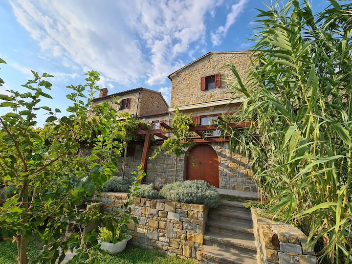 Istrian stone house Padna, 3-5 persons