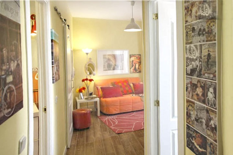 A bright, quiet and with all the comforts in the center . Un luminoso y confortable apartamento WIFI