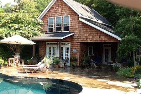 Zinnia Cottage, Pool, Roomy, Relax - Rock Hill - House