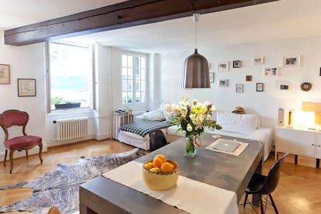 Appart au coeur de Lausanne - Lausanne - Apartamento