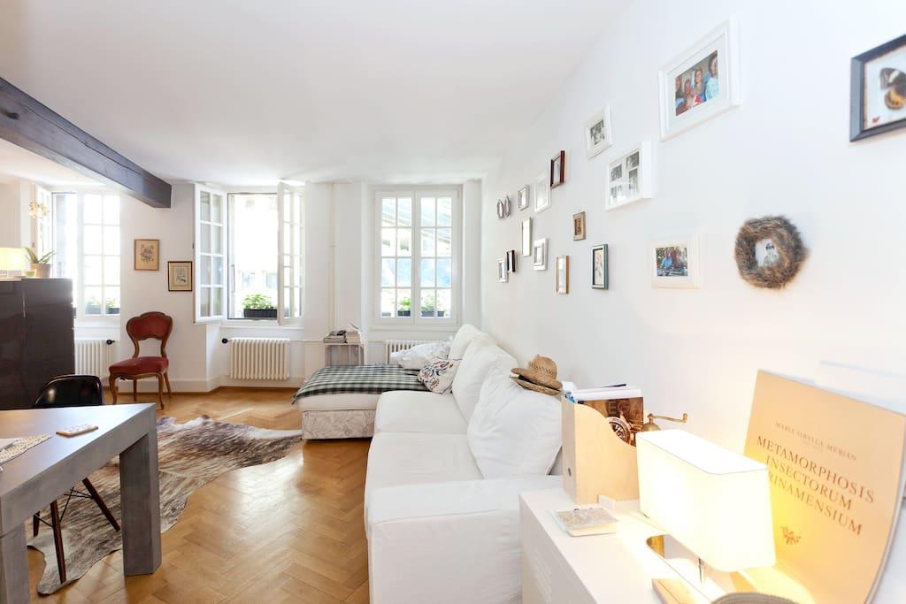 Appart au coeur de lausanne apartments for rent in for Appart city lausanne