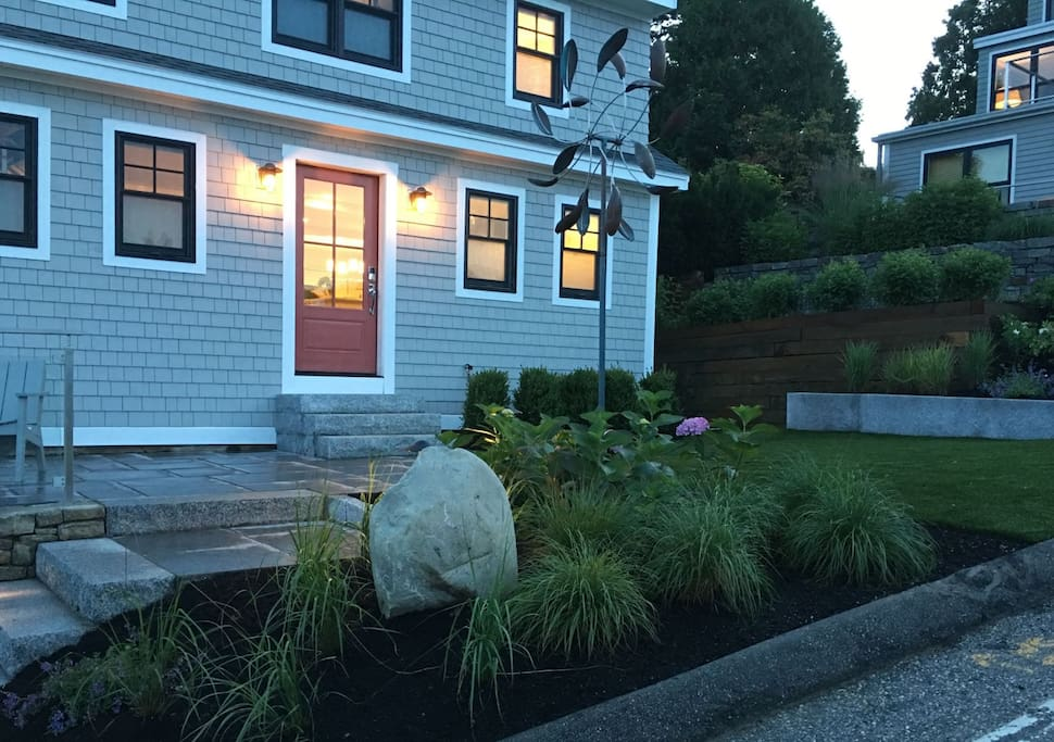 Professionally Hardscaped and Landscaped