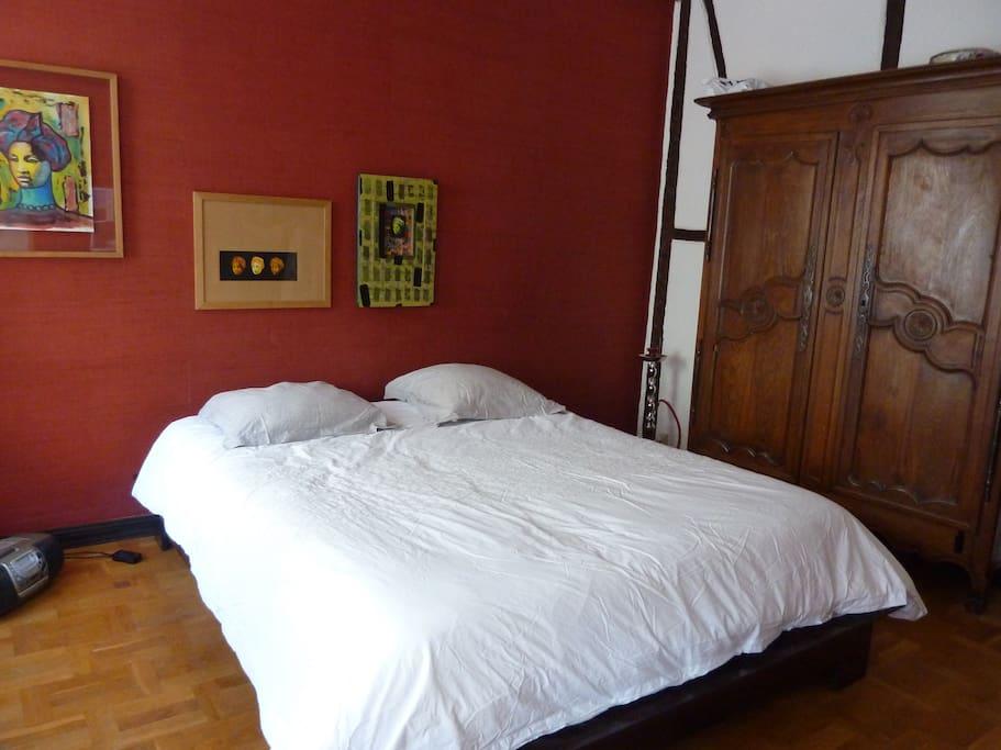 chambre bucolique strasbourg chambres d 39 h tes louer strasbourg alsace france. Black Bedroom Furniture Sets. Home Design Ideas