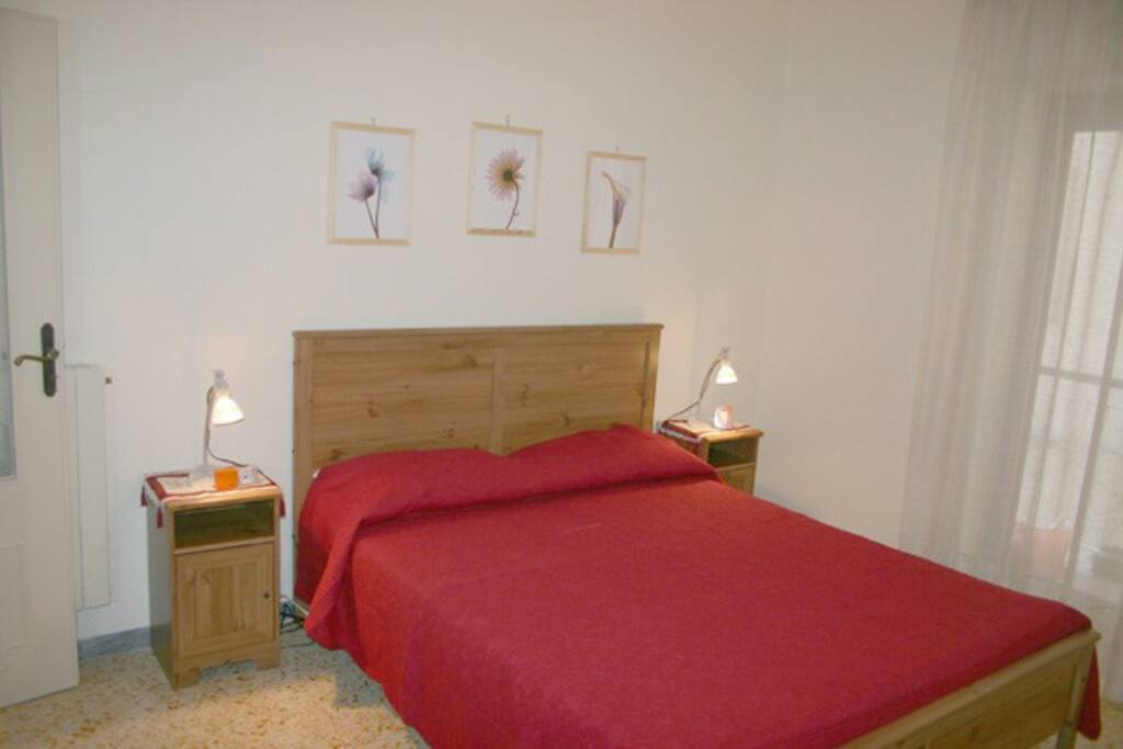 The double room of Letizia apartment in Sorrento center
