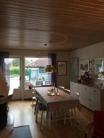 Close to Stockholm, neighbor with nature reserve!