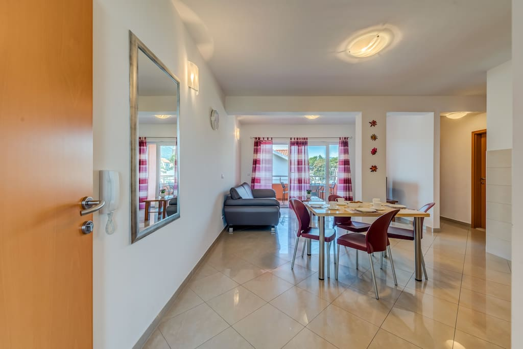 entrance in apartment