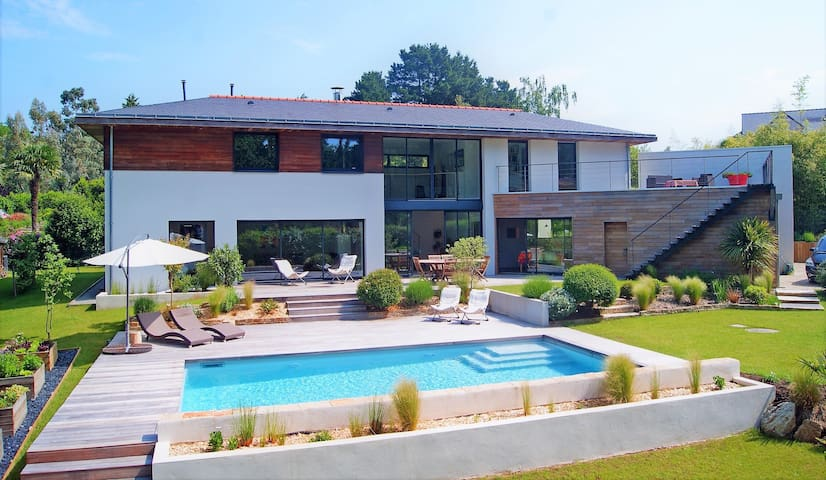 Belle Maison d'Architecte - 7/9 p - Proche Erdre - Sucé-sur-Erdre - Talo