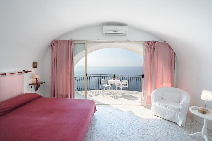 Casa Federica - House with amazing sea view - Praiano - Rumah