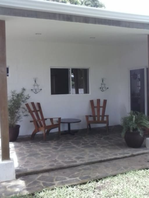 another view of back patio