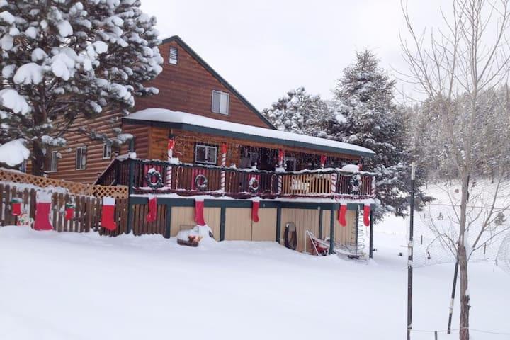 Deerview Lodge - Cloudcroft - Houten huisje
