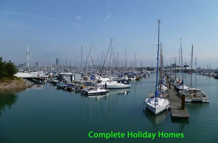 Close to waterfront and nearby marinas