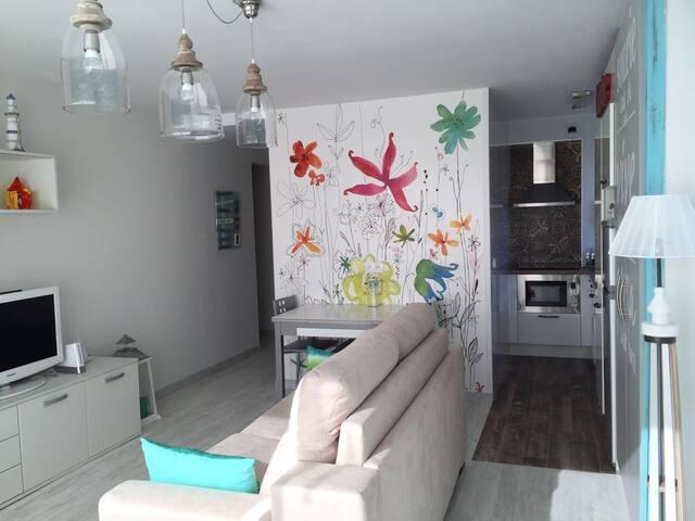 Estudio renovado en Hendaya-Playa - Hendaye - Lejlighed