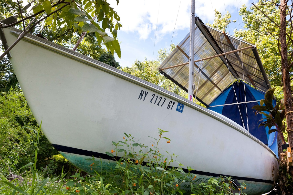Boat Tent u0026 Trailer on Horse Farm - Boats for Rent in Accord New York United States & Boat Tent u0026 Trailer on Horse Farm - Boats for Rent in Accord New ...