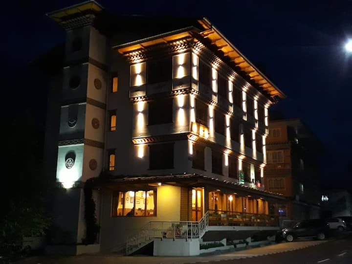Beautiful and cozy hotel in Thimphu