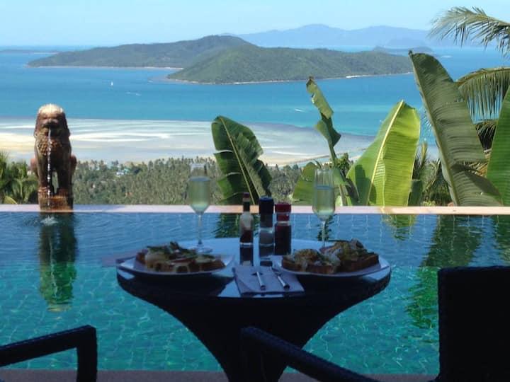 Villa Taling Ngam, Amazing Sea View