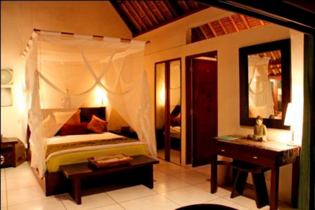Rice Field Pavilion bedroom