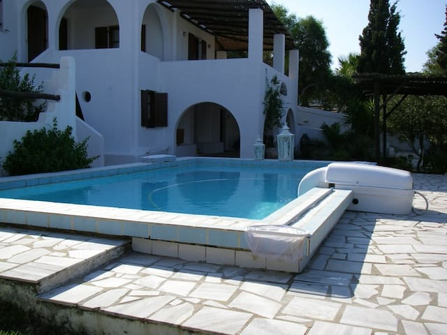 3 apartments for summer rent-2 on ground+1 on 1st - Paros - Daire
