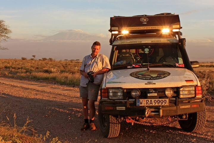 Landrover Discovery Safari Adaption