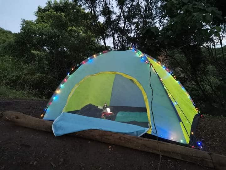 A night with Nature - Tent Camping & Trekking