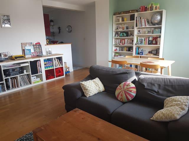 Appartement 4 pièces calme, agréable et lumineux