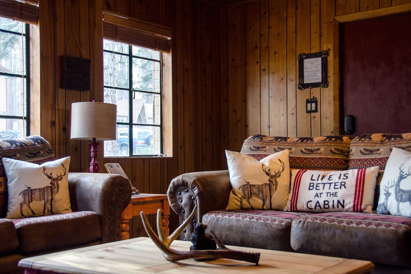 Rustic Lake Tahoe Charm In And Out