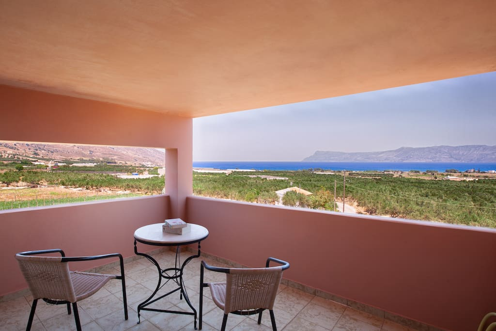 Upper balcony with Sea View - Maisonette #6